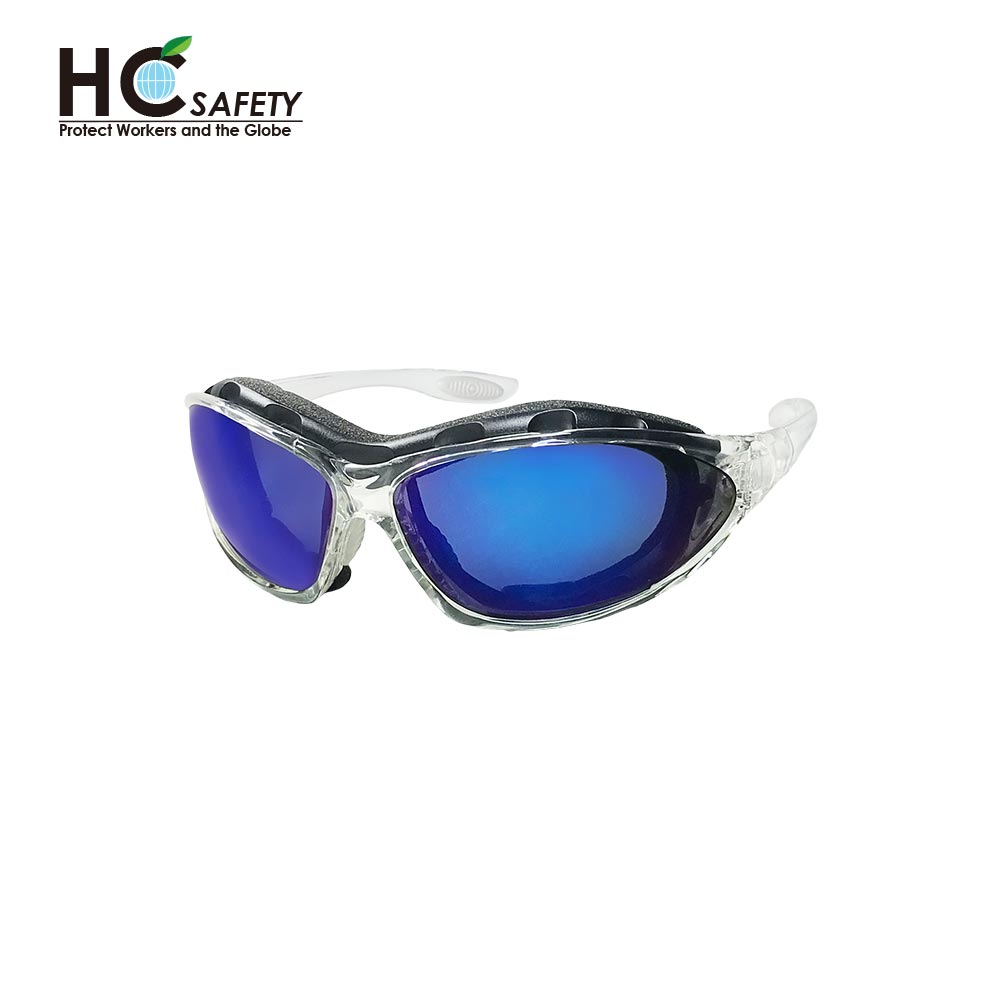 Safety Glasses A04 Blue Mirror